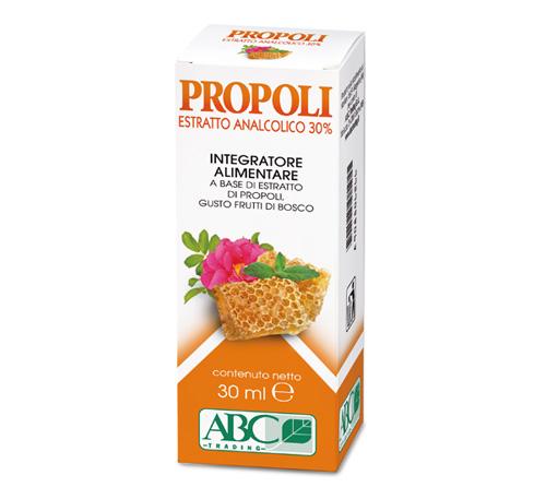 Propoli estratto analcolico 30%